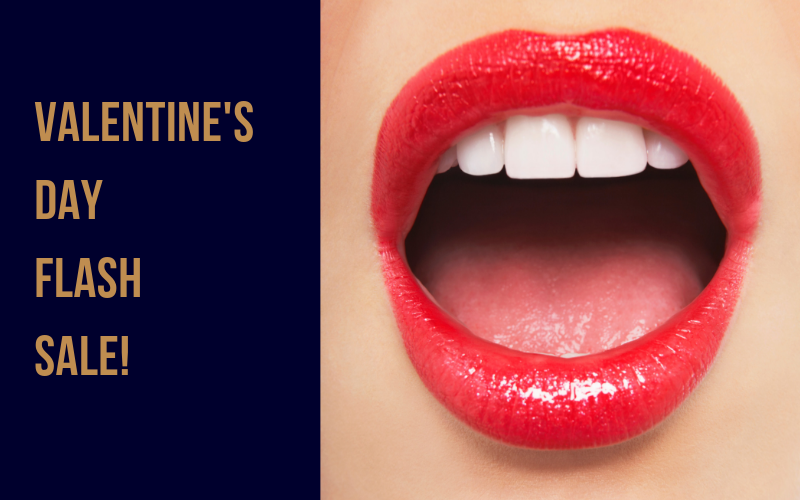 Get Kissable Lips in Our Valentine's Day Flash Sale